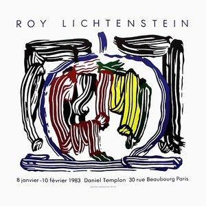 Affiche Expo 83 Galerie Daniel Templon par Roy Lichtenstein
