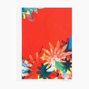 Sur, Nature Rouge di Miguel Chevalier