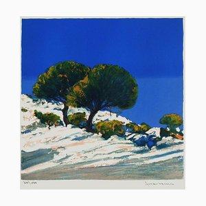 Les deux cyprès by Jean,Claude Allenbach