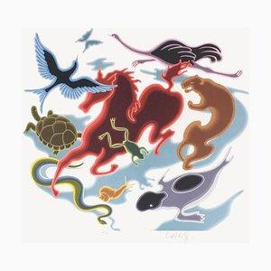 Study of Movement, Zoo, Album Origin, Victor Vasarely