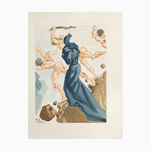 Divine Comedy Hell 15, The Copings of Phlegethon von Salvador Dali