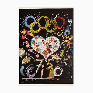 75th Anniversary of the Ioc Lausanne by Jean Tinguely