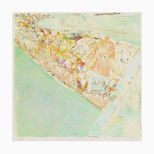 Procida Landscape by Pierre Lesieur