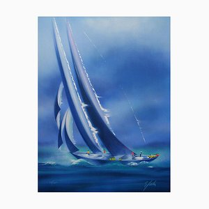 Sail Trim the Regatta von Victor Spahn