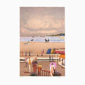 Deauville Seaside by Ramon Dilley