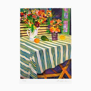 The Striped Tablecloth by Jean Pierre Pophillat