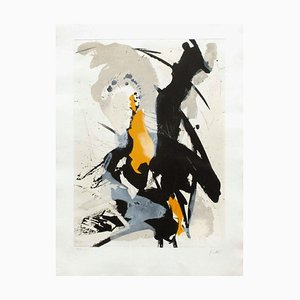 Abstract Composition III by Jean Miotte