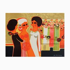 1975, Les Angéliques, Dressing by Frédéric Menguy