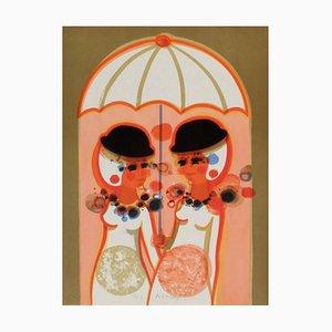 1975, Les Angéliques, The Umbrella by Frédéric Menguy