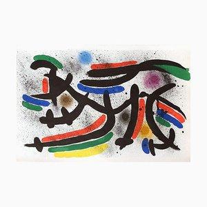 Miro Lithographe I,12 by Joan Miro