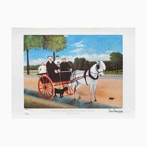 The Cart Father Junier by le Douanier Rousseau