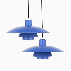 Danish PH 4/3 Pendant Lamps by Poul Henningsen for Louis Poulsen, 1960s, Set of 2