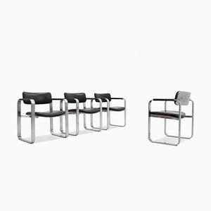 Mid-Century Esszimmerstühle von Eero Aarnio für Mobel Italia, 4er Set