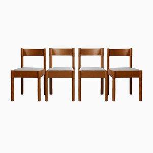 Chaises de Salon Mid-Century, Danemark, Set de 4