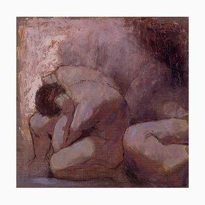 Renato Criscuolo, Komposition, Öl auf Leinwand