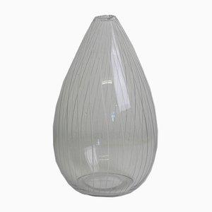 Finnische 3282 Vase aus Glas von Tapio Wirkkala für Iittala, 1956