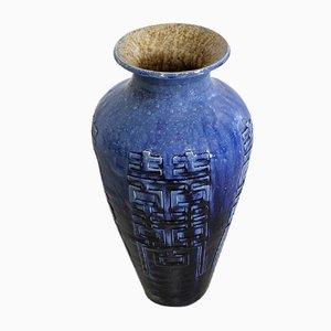 Antike Chinesische Blaue Baluster Vase
