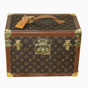 Vintage Train Box Case by Louis Vuitton