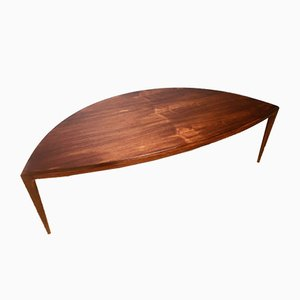 Mid-Century Danish Coffee Table by Johannes Andersen for CFC Silkeborg, 1960s