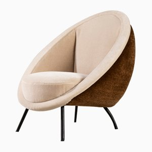 Italian Egg Chair by Ico Parisi, 1960s