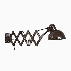 Modell Scissor Wandlampe von Christian Dell für Kaiser Idell / Kaiser Leuchten, 1960er