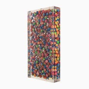 Arman, Sculpture Accumulation of Chupa Chups, 1990