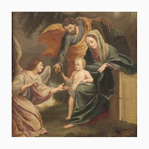 Holy Family Among the Angels, 18th Century