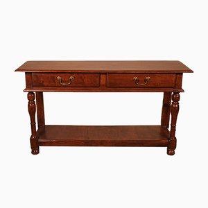 Antiker englischer 2-stufiger Konsolentisch oder Sideboard, 1800er