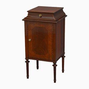 Antique Edwardian Mahogany Bedside Cabinet