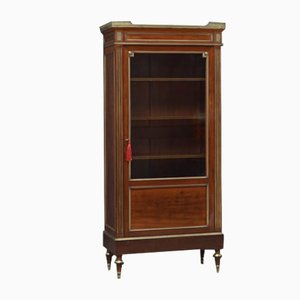 Antique French Bookcase / Display Cabinet, Circa 1900