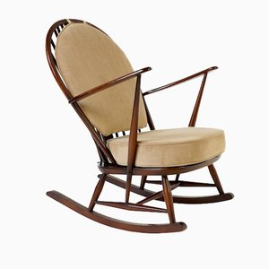 Fleur de Lys Rocking Chair by Ercol