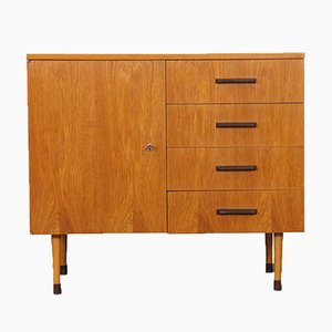 Oak Chest of Drawers from UP Závody, 1974