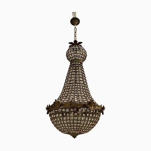 Lampadari in cristallo, anni '60, set di 2