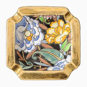 Art Deco Ashtray by Raymond Chevalier for Boch Frères, 1930s