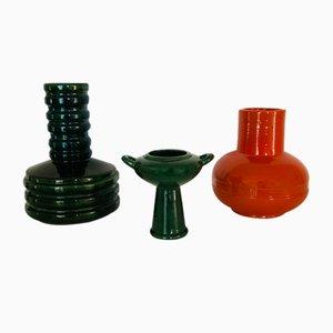 Vintage Tris Keramiken von Vi Ba, Il Picchio, 1970er, 3er Set
