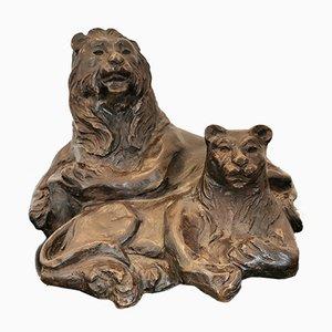 Oggetto animale in bronzo di Alexis Hinsberger