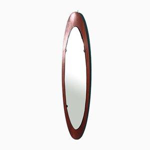 Mid-Century Teak Mirror by Campo e Graffi for Creazioni Stilcasa