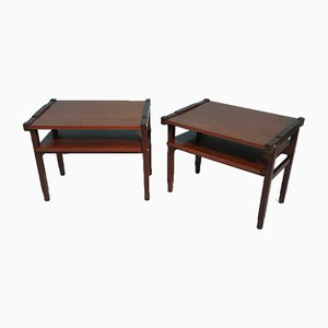 Rosewood Coffee Tables, 1960s, Set of 2