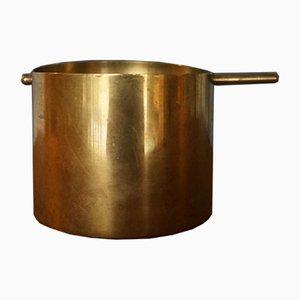 Cylinda Messing Aschenbecher von Arne Jacobsen für Stelton, 1970er