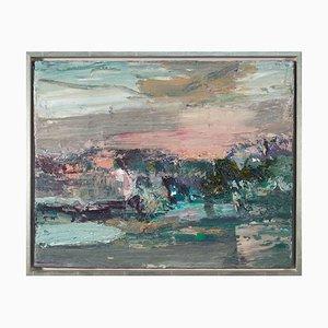 Torsten Ueschner, Landschaft 247, Öl auf Leinwand, 2020