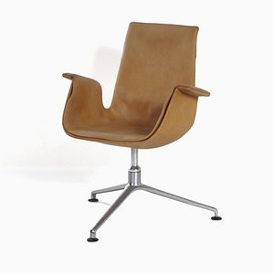 FK 6725 Tulip Swivel Chair by Kastholm & Fabricius for Kill International, 1960s
