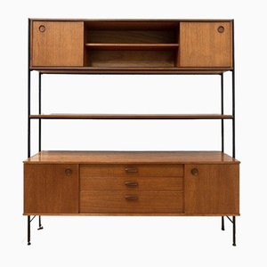 Mid-Century Vintage Shelving Unit in Teak from Avalon