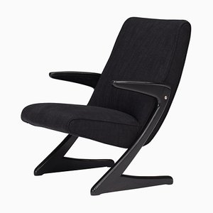 Z Lounge Armchair by Bengt Ruda for Nordiska, Sweden, 1950s
