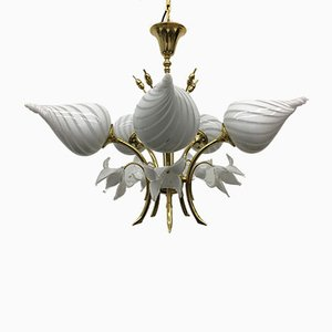Vintage Italian Chandelier in Murano Glass, 1970s