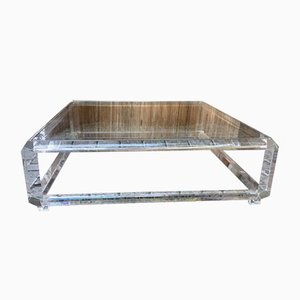 Large Coffee Table in Plexiglass