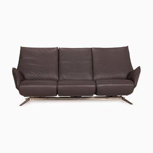Evita Gray Three Seater Sofa from Koinor