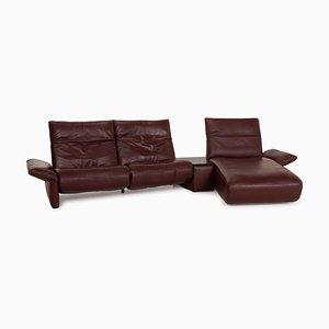 Elena Red Corner Sofa from Koinor