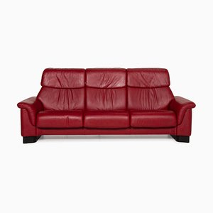 Paradise Three Seater Leather Sofa from Stressless