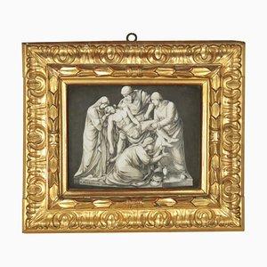 Lamentation Over the Dead Christ, Peinture sur Porcelaine