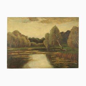 Giuseppe Valsecchi, olio su tela